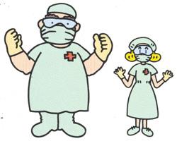 万全を期した感染予防対策