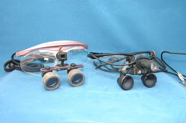 顕微鏡メガネ